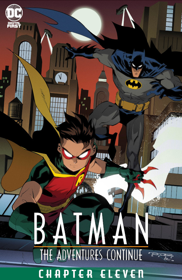 Batman: The Adventures Continue #11 comic review