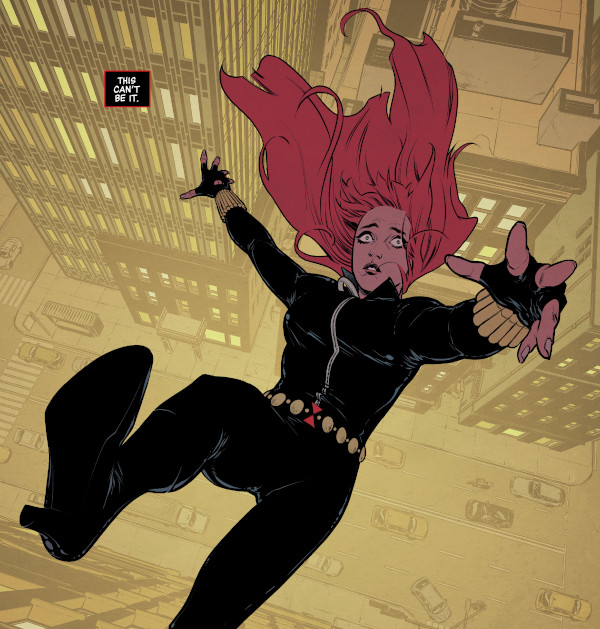 Black Widow #1 comic review