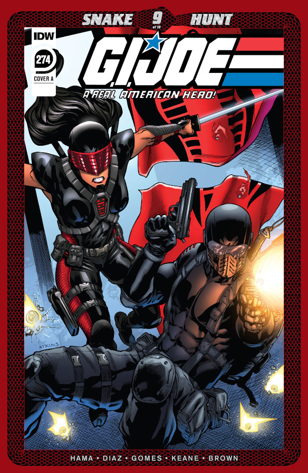 G.I. JOE: A Real American Hero #274 comic review