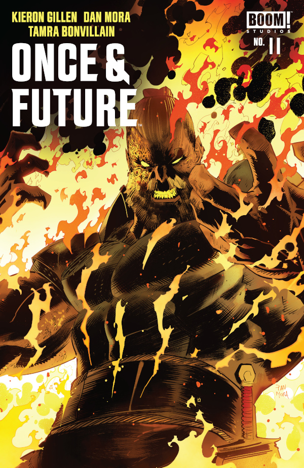 Once and Future #11 comic review