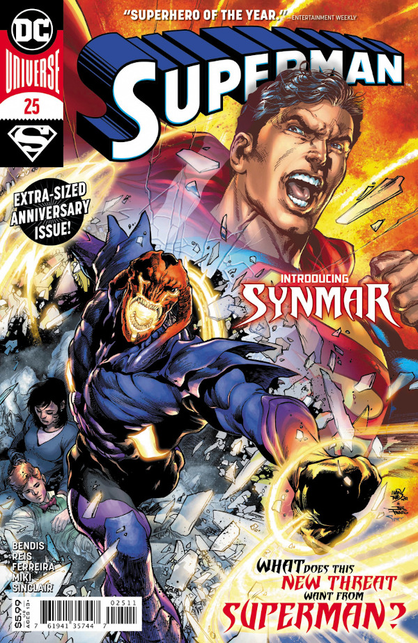Superman #25 comic review