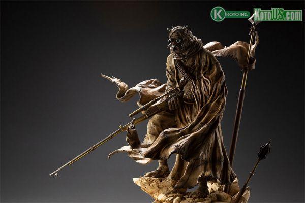Tusken Raider Barbaric Desert Tribe ARTFX Statue