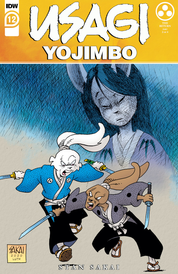Usagi Yojimbo #12 comic review