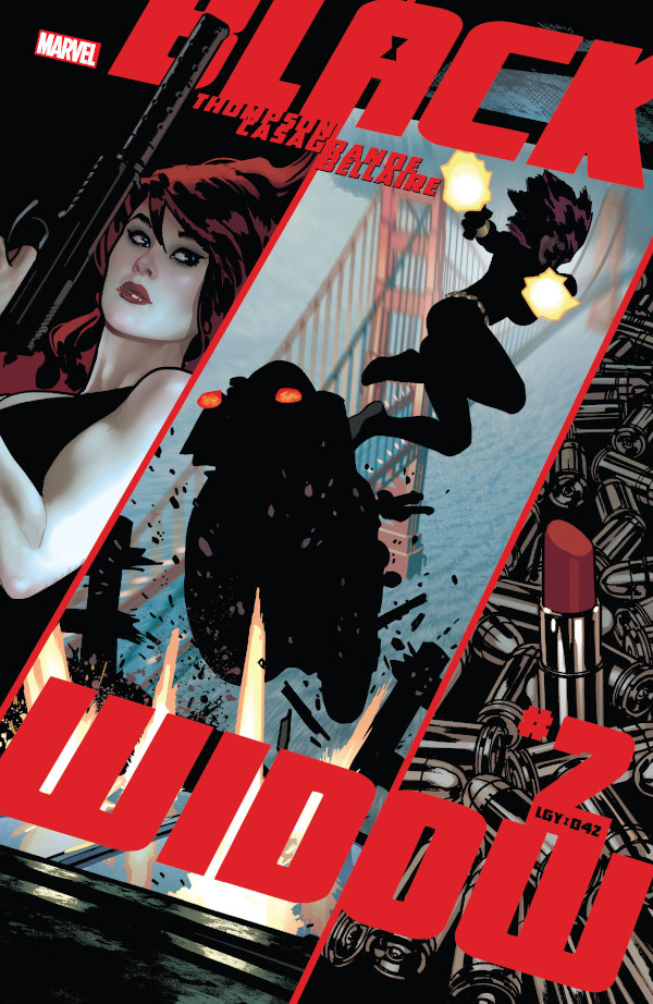 Black Widow #2 comic review