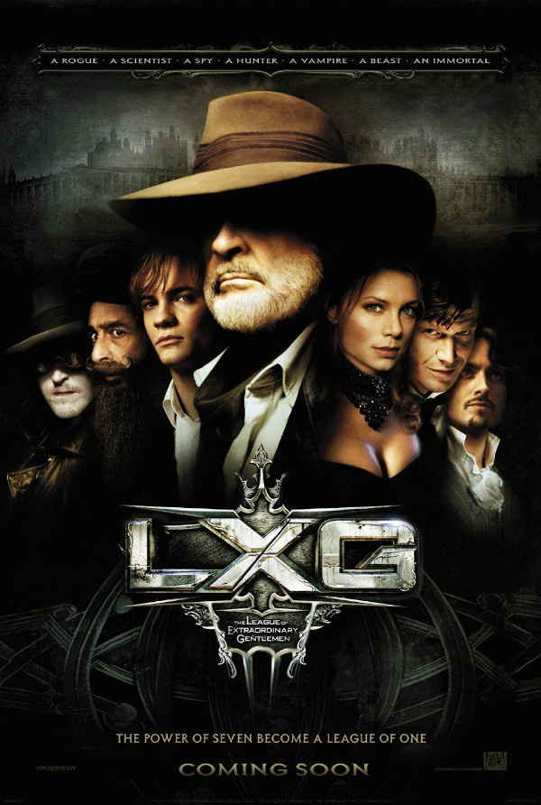 The League of Extraordinary Gentlemen movie review