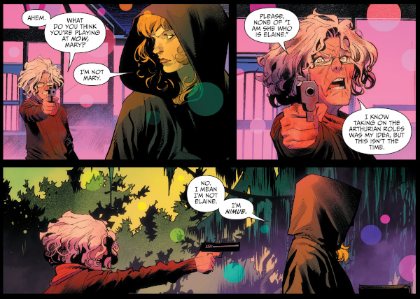 Once and Future #12 comic review