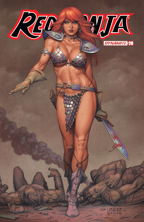 Red Sonja #20 comic review