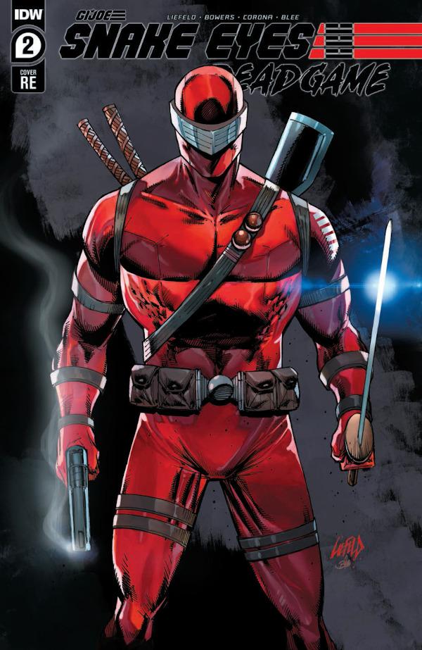Snake Eyes: Deadgame #2 comic review