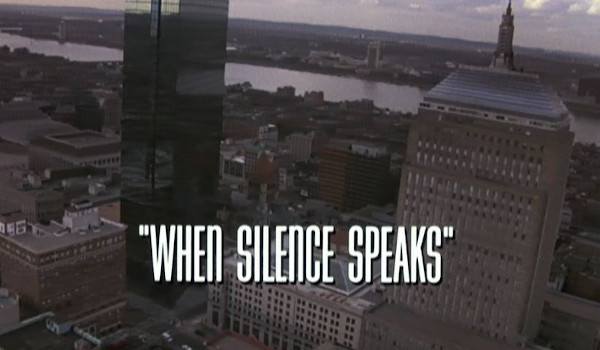 Spenser: For Hire - When Silence Speaks television review