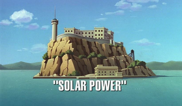 Superman: The Animated Series - Solar Power television review
