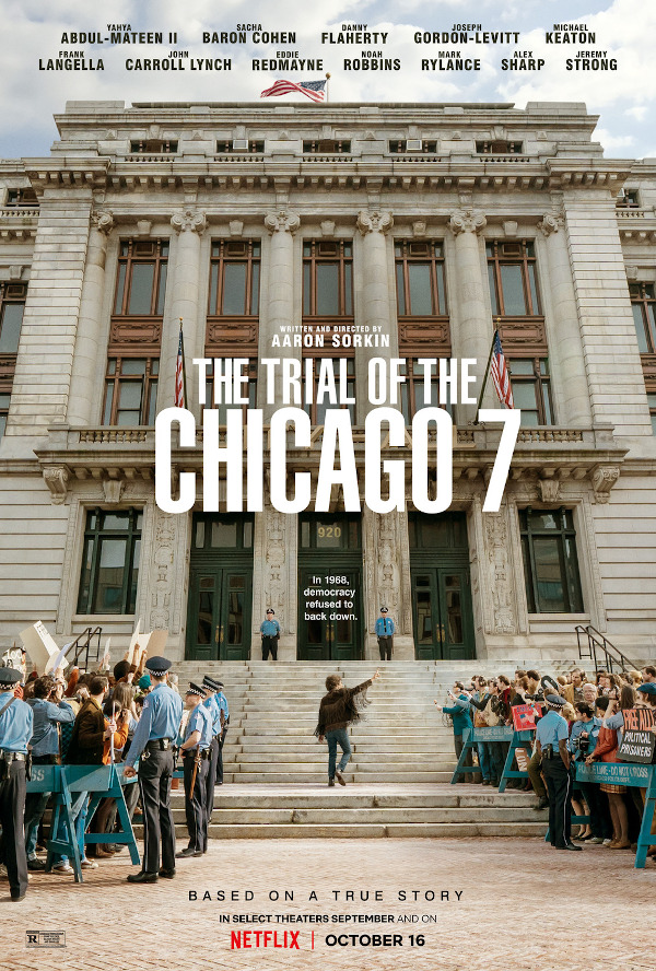 The Trial of the Chicago 7 movie review