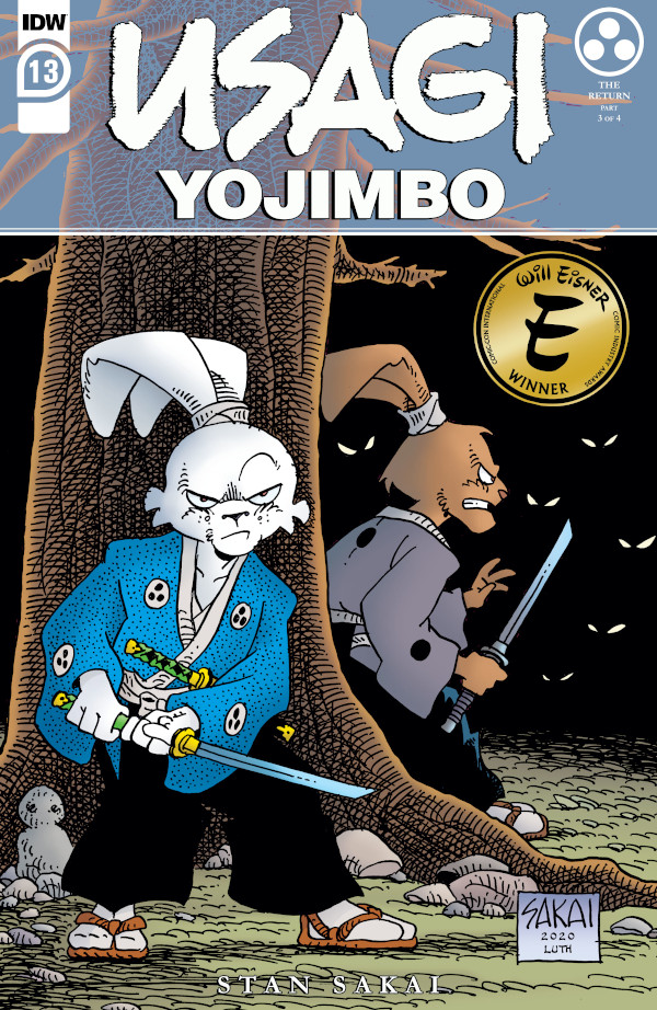 Usagi Yojimbo #13 comic review