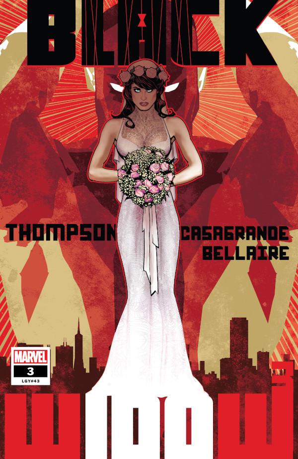 Black Widow #3 comic review
