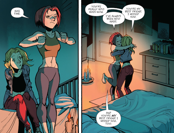 Buffy the Vampire Slayer #19 comic review