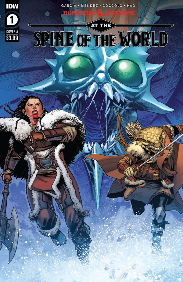 Dungeons & Dragons: At the Spine of the World #1 comic review