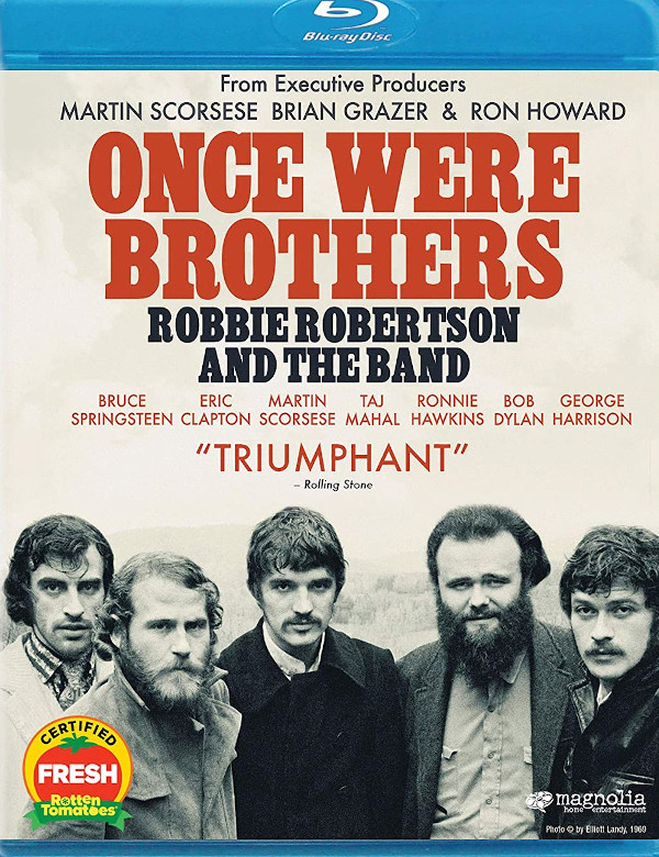 Once Were Brothers: Robby Robertson and The Band Blu-ray review