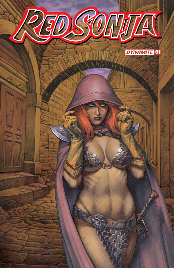 Red Sonja #21 comic review