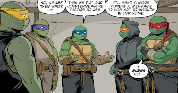 Teenage Mutant Ninja Turtles #111 comic review