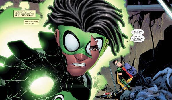Young Justice #20 comic review