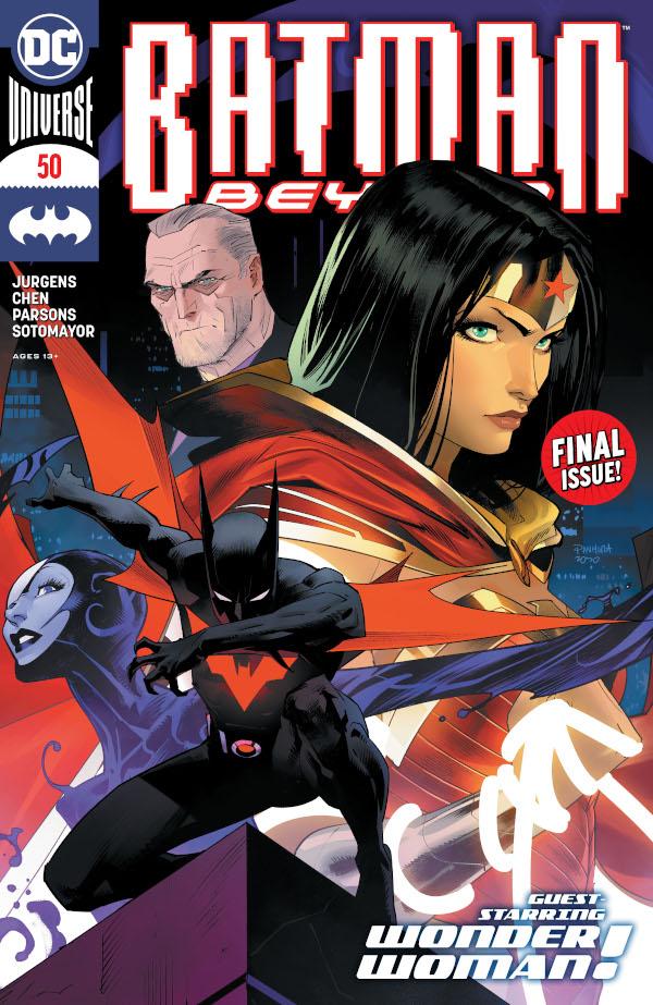 Batman Beyond #50 comic review