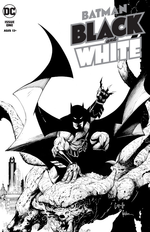 Batman: Black and White #1 comic review