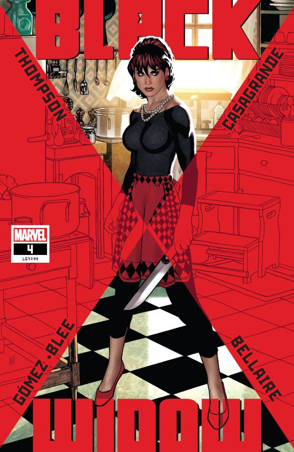 Black Widow #4 comic review