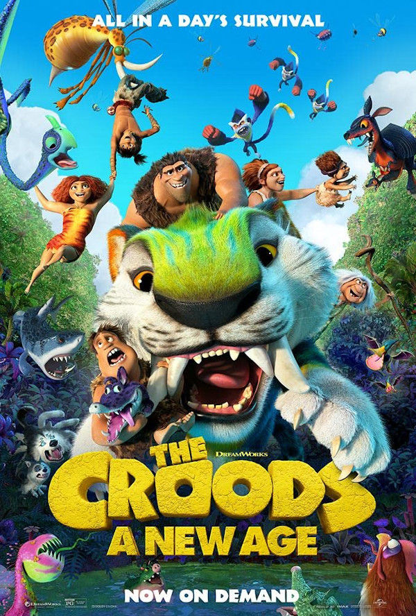 The Croods: A New Age movie review