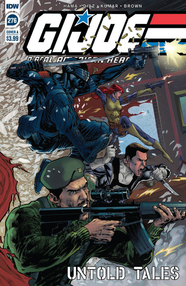 G.I. JOE: A Real American Hero #276 comic review