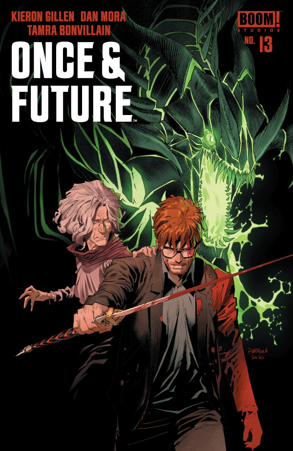 Once and Future #13 comic review