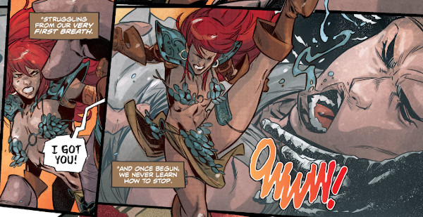 Red Sonja #22 comic review