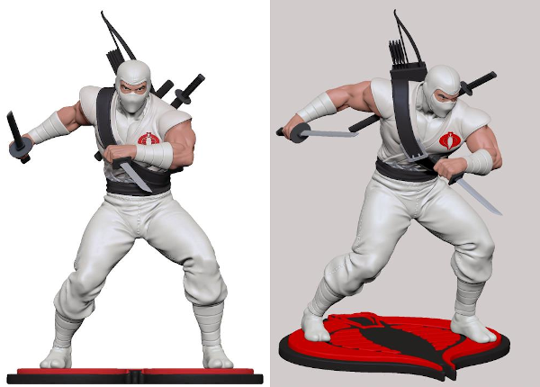 G.I. JOE Storm Shadow 9in. Scale Statue