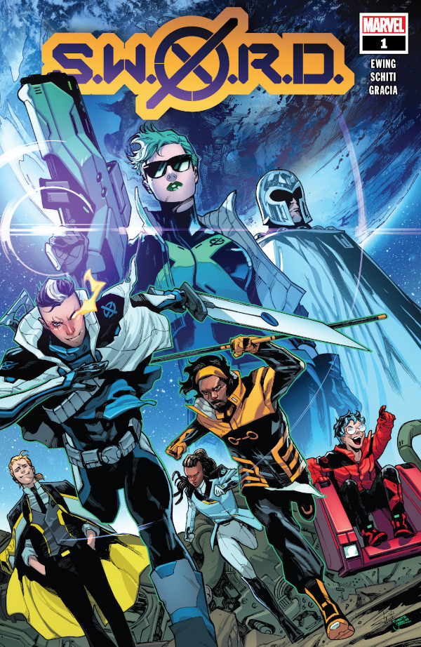 S.W.O.R.D. #1 comic review