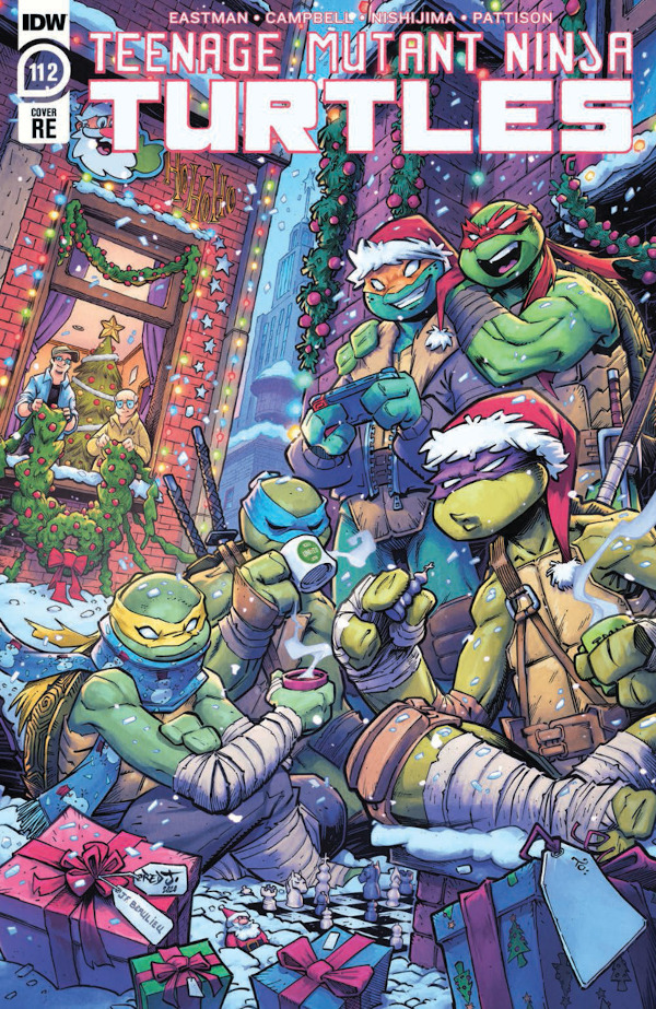 Teenage Mutant Ninja Turtles #112 comic review