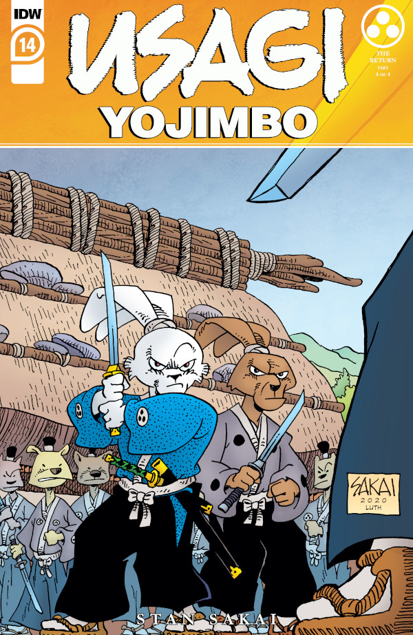 Usagi Yojimbo #14 comic review