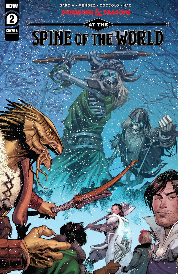 Dungeons & Dragons: At the Spine of the World #2  comic review