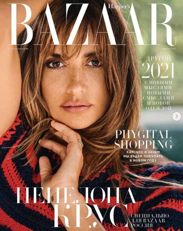 Penélope Cruz - Harper's Bazaar Russia (January 2021)