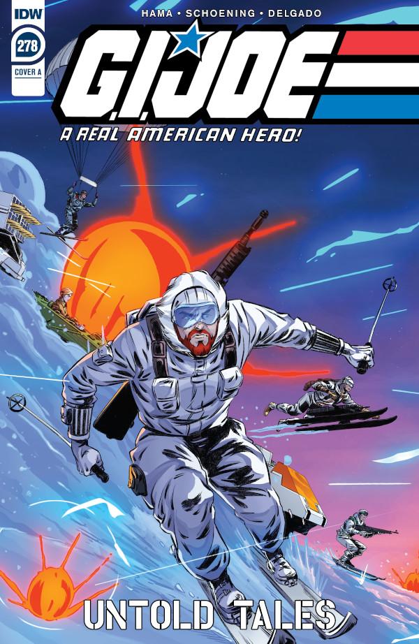 G.I. JOE: A Real American Hero #278 comic review