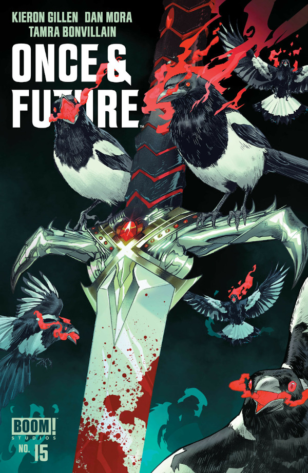 Once and Future #15 comic review