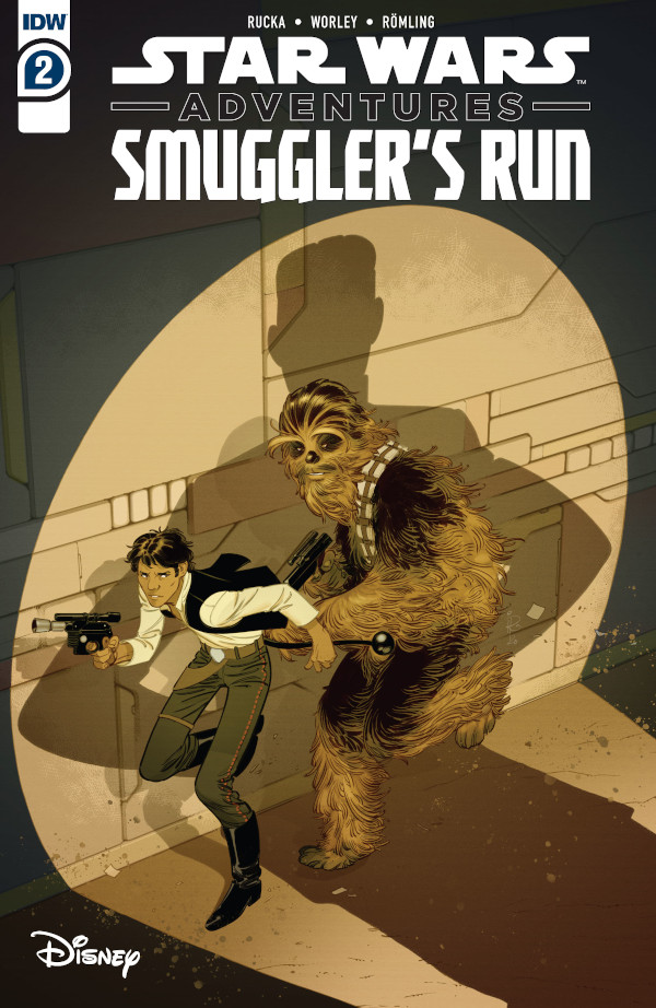 Star Wars Adventures: Smuggler's Run #2 comic review