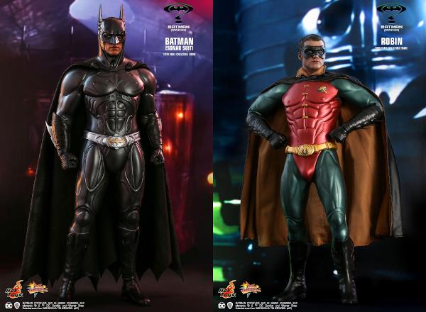 Batman Forever Batman (Sonar Suit) & Robin Sixth-Scale Figures
