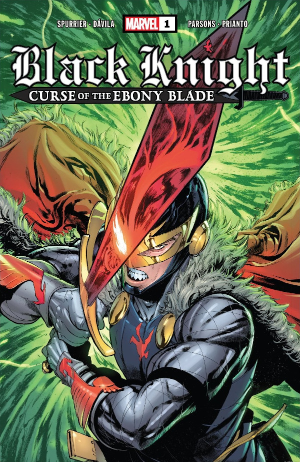 Black Knight: Curse of the Ebony Blade #1 comic review