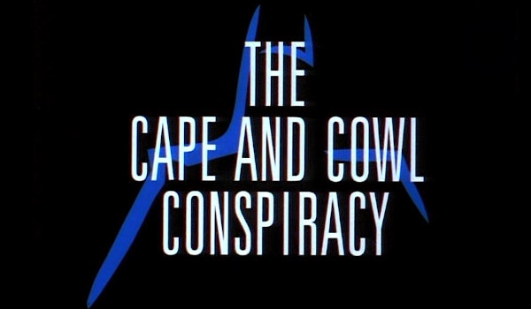 Batman: The Animated Series - The Cape and Cowl Conspiracy television review