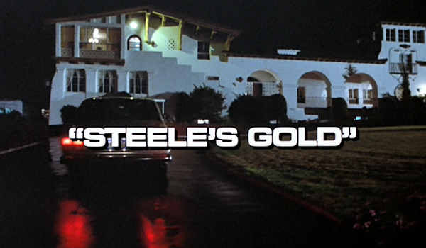 Remington Steele - Steele's Gold television review