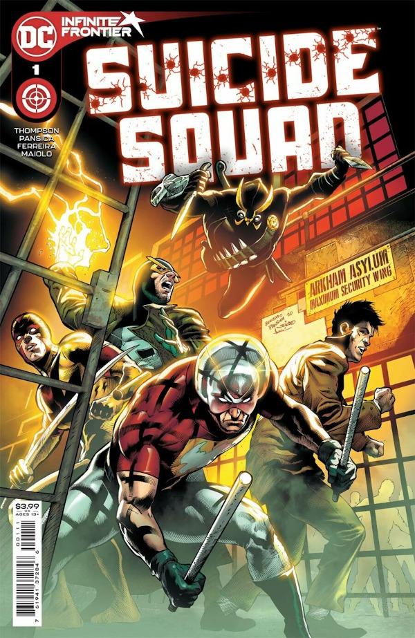 Suicide Squad #1 comic review