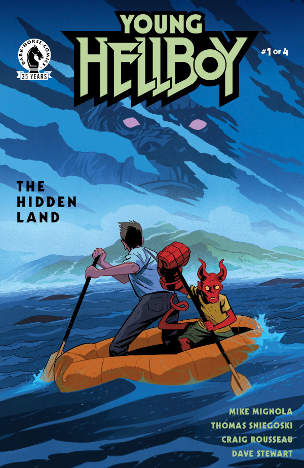 Young Hellboy: The Hidden Land #1 comic review