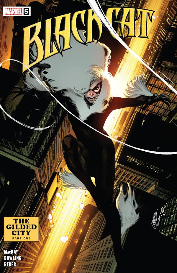 Black Cat #5 comic review