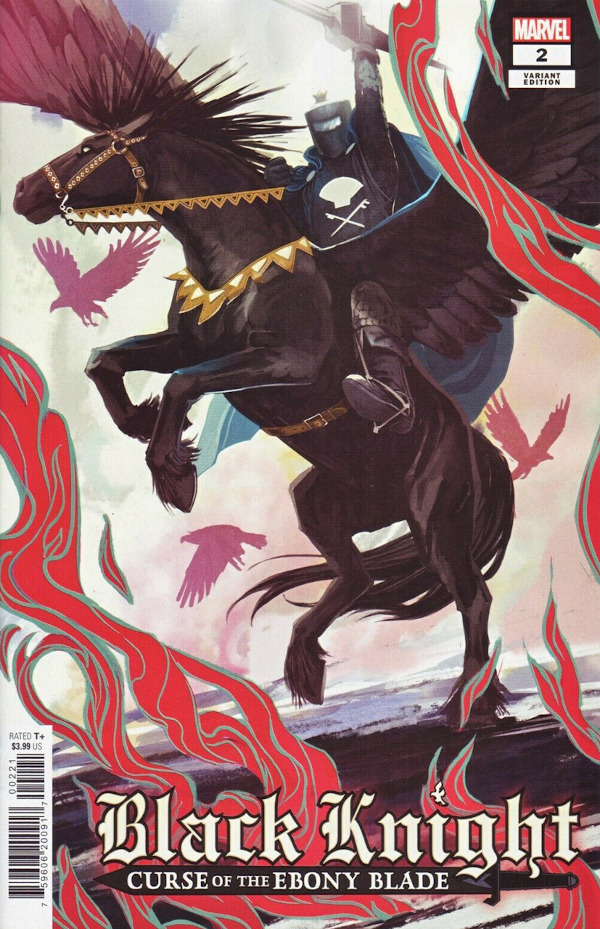 Black Knight: Curse of the Ebony Blade #2 comic review