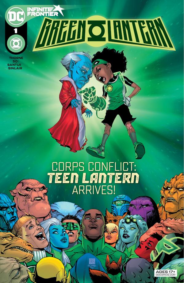 Green Lantern #1 comic review