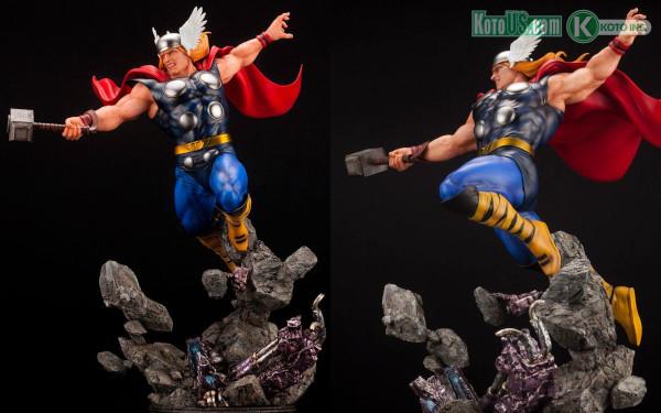 Marvel Universe Thor Avengers Fine Art Statue