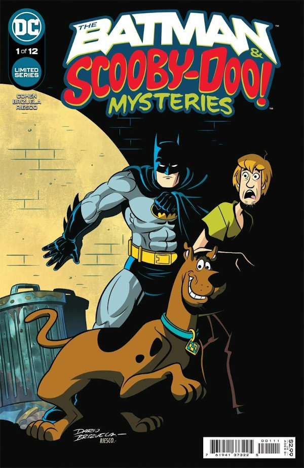 The Batman & Scooby-Doo Mysteries #1 comic review
